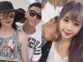 Những 'bóng hồng' từng công khai hẹn hò với cầu thủ Nguyễn Trọng Đại