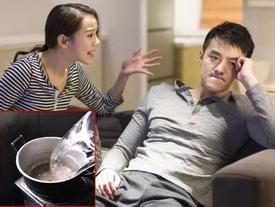CLIP 'cười không nhặt được mồm': Khi vợ quá giận chồng mà vẫn phải nấu ăn cho chồng thì...