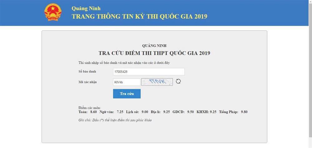 Lộ bảng điểm thi THPT Quốc gia chuẩn con nhà người ta của Quán quân Đường lên đỉnh Olympia 2018-2