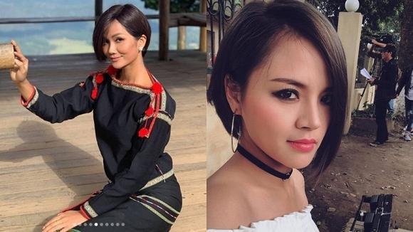 Sau kiểu tóc My Sói, hoa hậu HHen Niê lại khiến fan đắm đuối với hình ảnh nữ sinh suối tóc đen dài-2