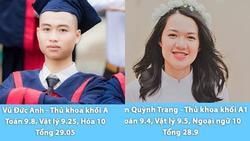 Hóa ra đây chính là những 'gương mặt vàng trong làng thủ khoa' của kỳ thi THPT Quốc gia năm nay