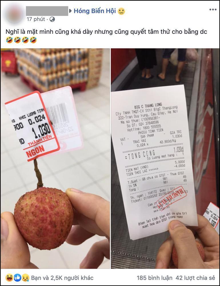 Sợ chị thèm cherry, em trai vào siêu thị mua ngay 1 quả giá 6 nghìn, được dân mạng khen dễ thương hết lời-3