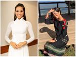 Sau kiểu tóc 'My Sói', hoa hậu H'Hen Niê lại khiến fan đắm đuối với hình ảnh nữ sinh suối tóc đen dài