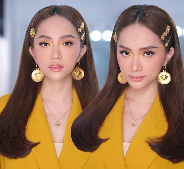 Hương Giang chơi lớn với style mắt lửa ngươi vàng giống Tề Thiên Đại Thánh, fan được phen trầm trồ-4