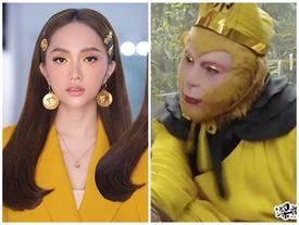 Hương Giang 'chơi lớn' với style mắt lửa ngươi vàng giống Tề Thiên Đại Thánh, fan được phen trầm trồ
