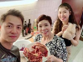 Vợ xinh của Đăng Khôi đi du lịch vẫn vào bếp làm món 'nhà giàu': Bất ngờ với mức giá
