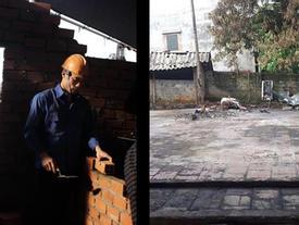 Bùi Tiến Dũng xắn tay xây lại căn nhà bị cháy của bà nội ở Thanh Hóa