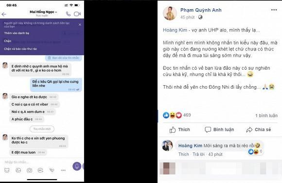 Bị kẻ giả mạo Đông Nhi nhờ mua túi, Phạm Quỳnh Anh nhắn nhủ lạ-1