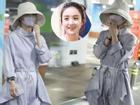 Triệu Lệ Dĩnh xuất hiện lẻ bóng tại sân bay, 'ngụy trang' kín mít giữa tâm bão ly hôn