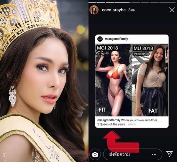 Tân Hoa hậu Hòa bình Thái Lan bị mắng trơ tráo: Đã miệt thị Miss Universe lại còn ra điều kiện để xin lỗi-2
