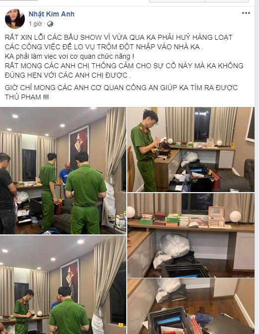 Hé lộ clip trộm đột nhập nhà Nhật Kim Anh, dùng xà beng phá két sắt khoắng sạch 5 tỷ đồng-2
