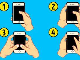 Nhìn cách cầm điện thoại nhắn tin, biết ngay người sang hay nghèo, tính cách ra sao