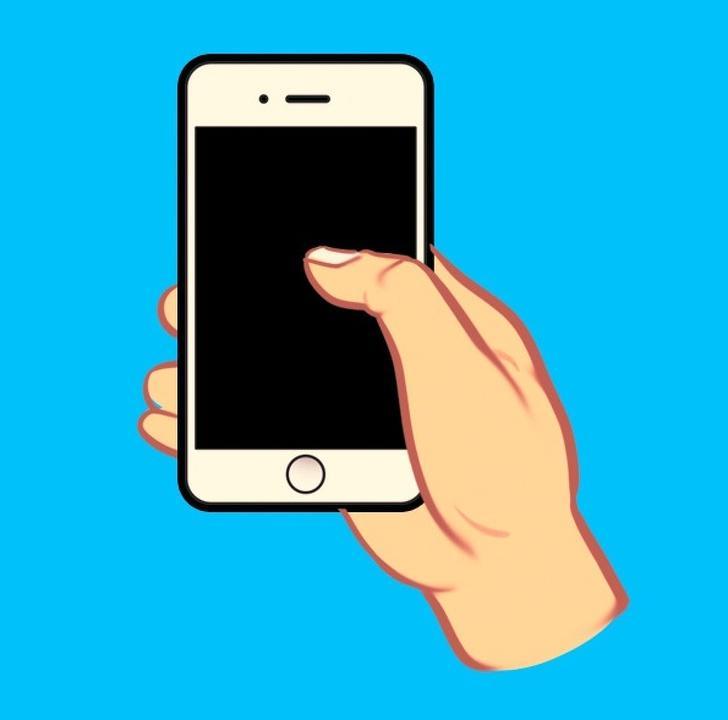 Nhìn cách cầm điện thoại nhắn tin, biết ngay người sang hay nghèo, tính cách ra sao-1