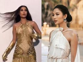Bản tin Hoa hậu Hoàn vũ 16/7: Đối thủ Indonesia kém xinh nhưng tạo dáng xuất sắc ngang ngửa Hoàng Thùy