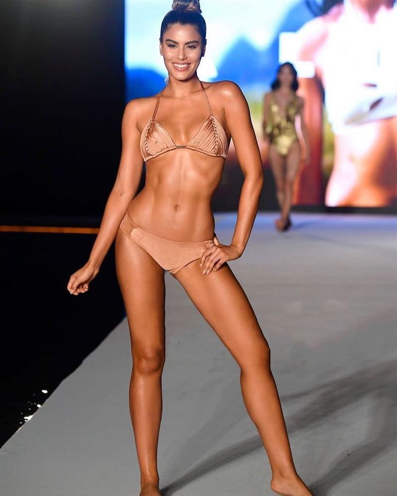 Bản tin Hoa hậu Hoàn vũ 16/7: Đối thủ Indonesia kém xinh nhưng tạo dáng xuất sắc ngang ngửa Hoàng Thùy-7