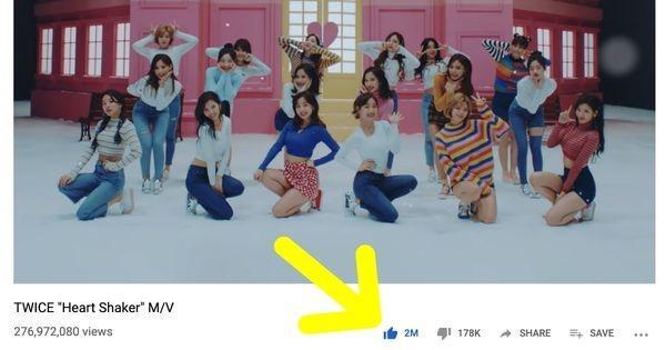Heart Shaker trở thành MV thứ 7 của Twice đạt được cột mốc ấn tượng này trên YouTube-1