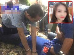 Sởn da gà xem Bùi Văn Công diễn lại toàn bộ hành vi hãm hiếp nữ sinh giao gà, các đối tượng khác giữ tay chân nạn nhân