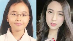 Mie Nguyễn được khen dậy thì thành công khi khoe ảnh thời 'mọt sách'