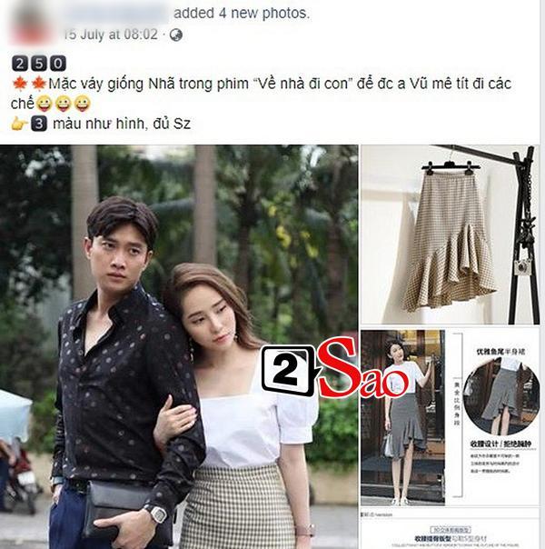 Quỳnh Nga bị ghét đến mức váy của Nhã trong Về nhà đi con cũng bị tẩy chay, gọi là váy tiểu tam-5