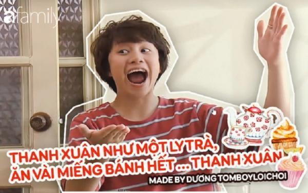 Dương xoăn làm thơ Thanh xuân như một tách trà khiến cộng đồng mạng rần rần bắt trend-1