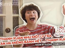 Dương xoăn làm thơ 'Thanh xuân như một tách trà' khiến cộng đồng mạng rần rần bắt trend