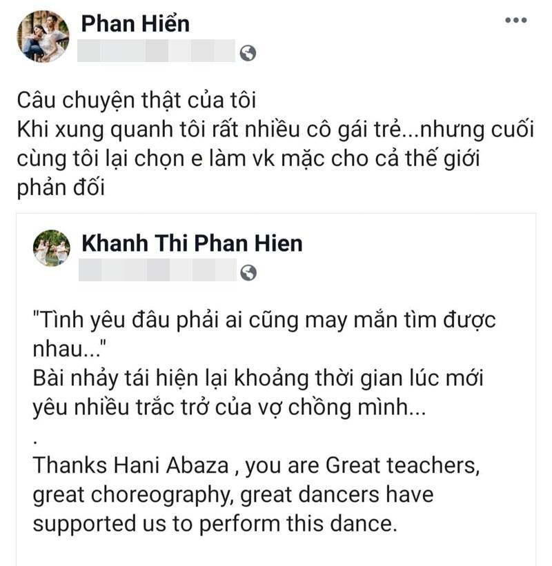 Biến Facebook thành tiểu thuyết ngôn tình mang tên Khánh Thi, có mấy ông chồng yêu vợ được như Phan Hiển!-2