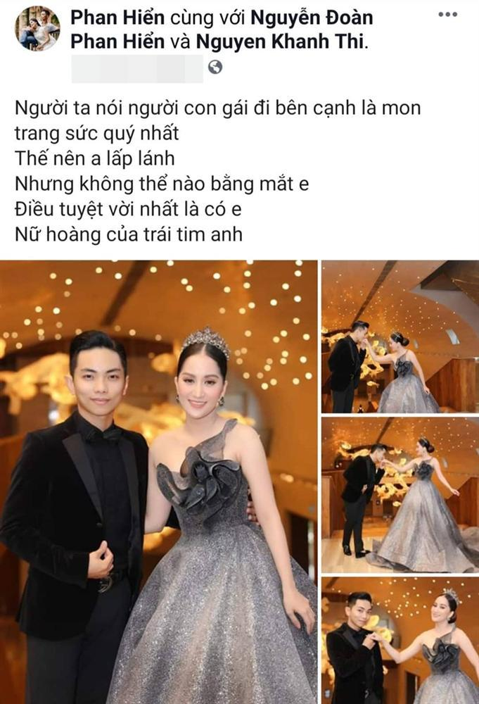 Biến Facebook thành tiểu thuyết ngôn tình mang tên Khánh Thi, có mấy ông chồng yêu vợ được như Phan Hiển!-4