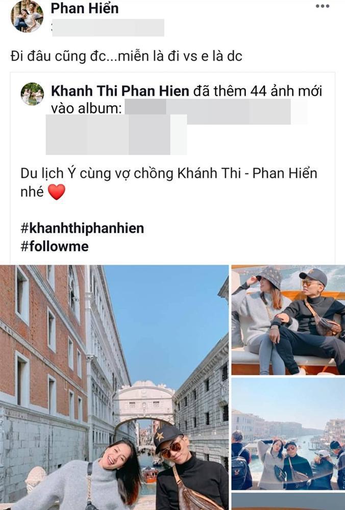 Biến Facebook thành tiểu thuyết ngôn tình mang tên Khánh Thi, có mấy ông chồng yêu vợ được như Phan Hiển!-7