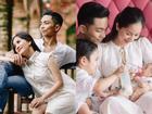 Biến Facebook thành 'tiểu thuyết ngôn tình' mang tên Khánh Thi, có mấy ông chồng yêu vợ được như Phan Hiển!