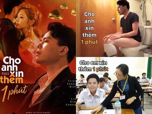 Đến tội Trịnh Thăng Bình, MV mới chưa ra lò mà ảnh chế đã ngập tràn MXH chỉ vì lỡ miệng xin thêm 1 phút