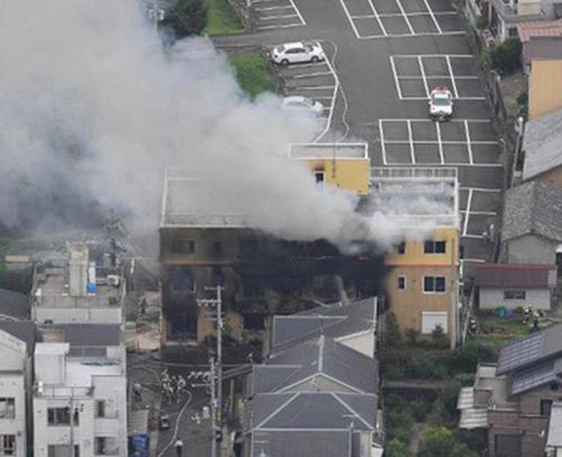 Xưởng phim hoạt hình Nhật bị đốt, hàng chục người thương vong-5