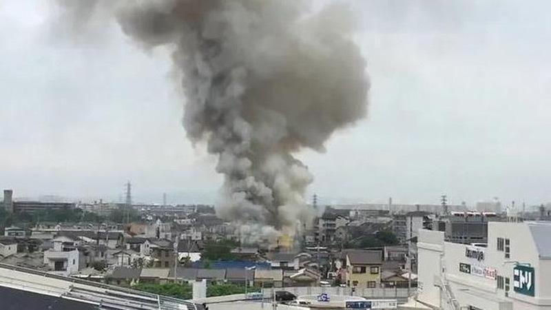 Xưởng phim hoạt hình Nhật bị đốt, hàng chục người thương vong-1