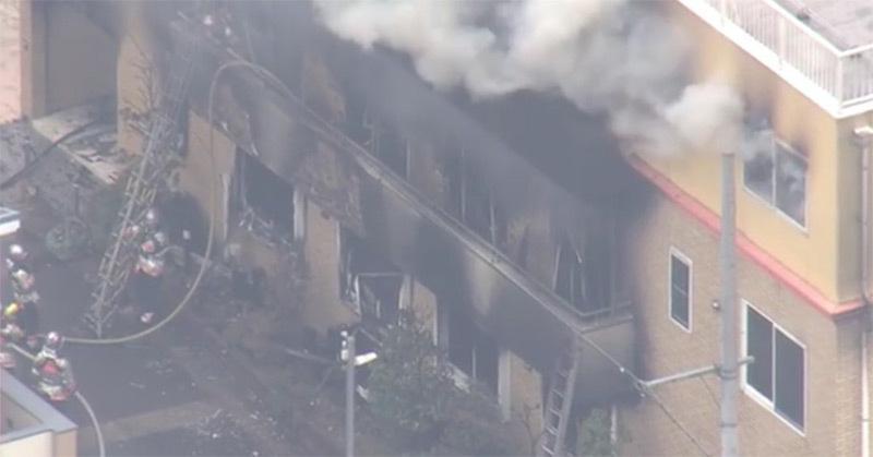 Xưởng phim hoạt hình Nhật bị đốt, hàng chục người thương vong-3
