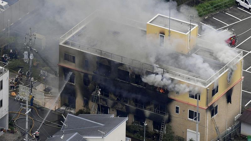 Xưởng phim hoạt hình Nhật bị đốt, hàng chục người thương vong-2