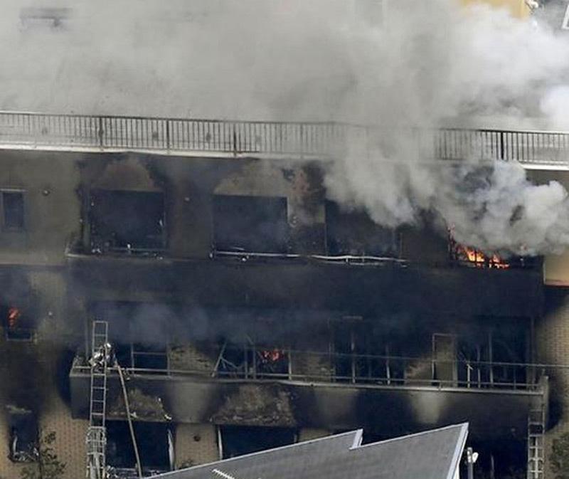 Xưởng phim hoạt hình Nhật bị đốt, hàng chục người thương vong-6
