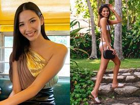 Bản tin Hoa hậu Hoàn vũ 18/7: Lộ bụng cao hơn ngực, đối thủ Australia không có 'cửa' đọ dáng với Hoàng Thùy