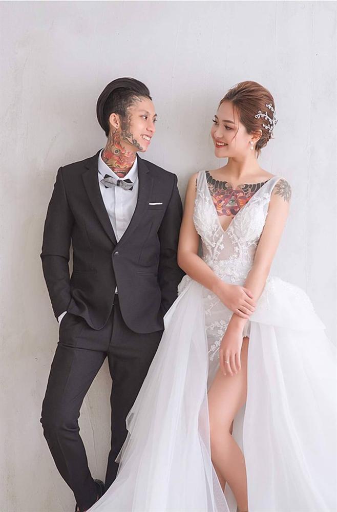 Hot girl Tây Nguyên được chồng nhuốm kín ngực bằng hình xăm lạ-1