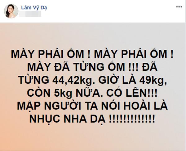 Lâm Vỹ Dạ quyết giảm cân về dáng mình hạc, Hoài Linh góp ý nghịch số đông gây ngỡ ngàng-3