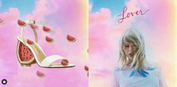Katy Perry đăng ảnh quảng cáo giày, fan liền đặt nghi vấn về màn hợp tác với Taylor Swift nhờ chi tiết lạ-1
