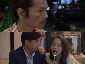 Ông Sơn bắt quả tang Vũ đang ôm ấp Nhã trong tập 69 'Về Nhà Đi Con'