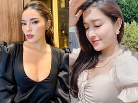 Á hậu Huyền My than tăng cân mất kiểm soát, Hoa hậu Kỳ Duyên an ủi 'vẫn xinh'