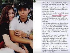 Bị anti-fan mắng 'vô học' khi đăng tải lời lẽ xúc phạm Văn Thanh, cách đáp trả của bạn gái thạc sĩ tuyển thủ CLB Hà Nội lại gây tranh cãi
