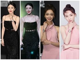 Nhan sắc trước và sau photoshop của Tần Lam - Ngô Cẩn Ngôn quả là 'cách xa vạn dặm'
