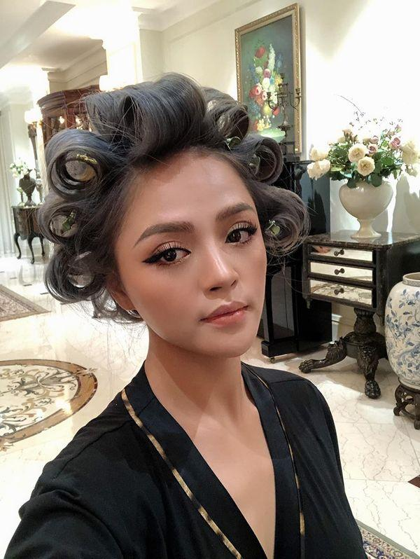Vừa đóng máy Về nhà đi con, Thu Quỳnh đã vội lột xác từ kiểu tóc đến phong cách, fan hú hét: My sói trở lại-1