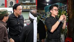 Chí Tài, Kiều Oanh và nhiều nghệ sĩ đến viếng biên đạo Hữu Trị