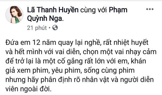 Quỳnh Nga bị thóa mạ vì vai tiểu tam trong Về Nhà Đi Con, Việt Anh dằn mặt khán giả: Có học và vô học chỉ khác nhau cách thể hiện-3