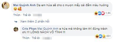 Lấy vợ chưa bao lâu, Cris Phan liên tục khoe ảnh mặc váy và phản ứng gây sốc của bà xã Mai Quỳnh Anh-3