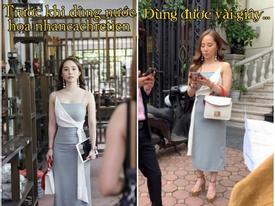 Nhã 'tiểu tam' Về Nhà Đi Con bị bóc mẽ photoshop 'ảo lòi' nhưng vẫn cháy inbox chỉ vì khán giả hỏi thăm mua váy