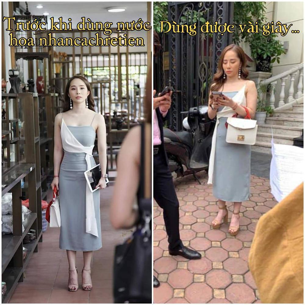 Nhã tiểu tam Về Nhà Đi Con bị bóc mẽ photoshop ảo lòi nhưng vẫn cháy inbox chỉ vì khán giả hỏi thăm mua váy-1