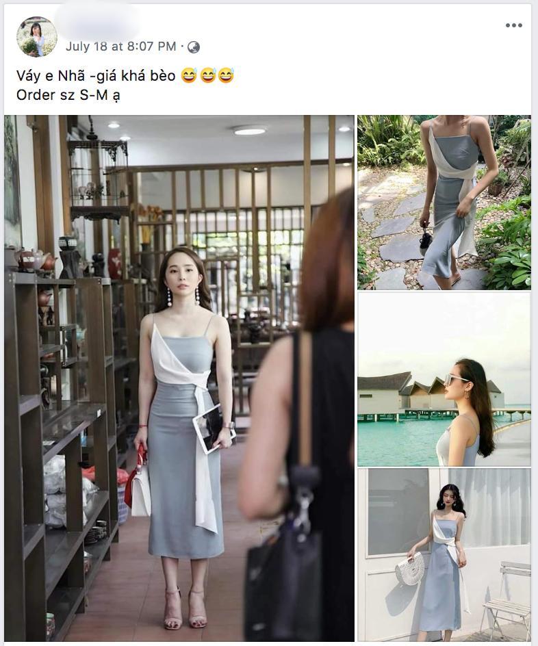 Nhã tiểu tam Về Nhà Đi Con bị bóc mẽ photoshop ảo lòi nhưng vẫn cháy inbox chỉ vì khán giả hỏi thăm mua váy-4